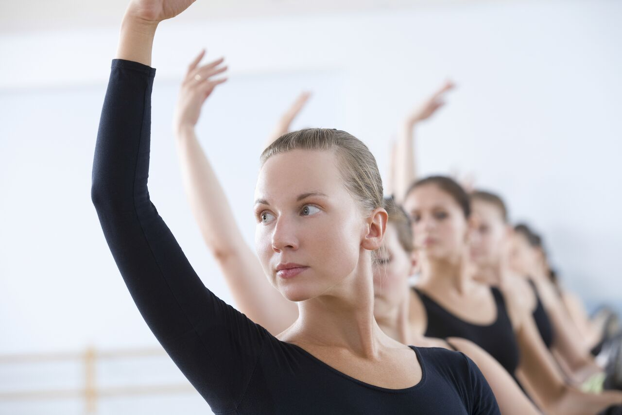 Dancers in Adult Drop-in classes