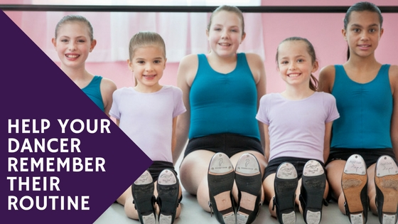 Help your dancer remember their routine!