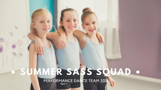 Summer Sass Squad Dance Team