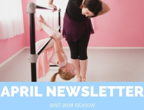 April 2018 Newsletter | Woodstock Dance Studio