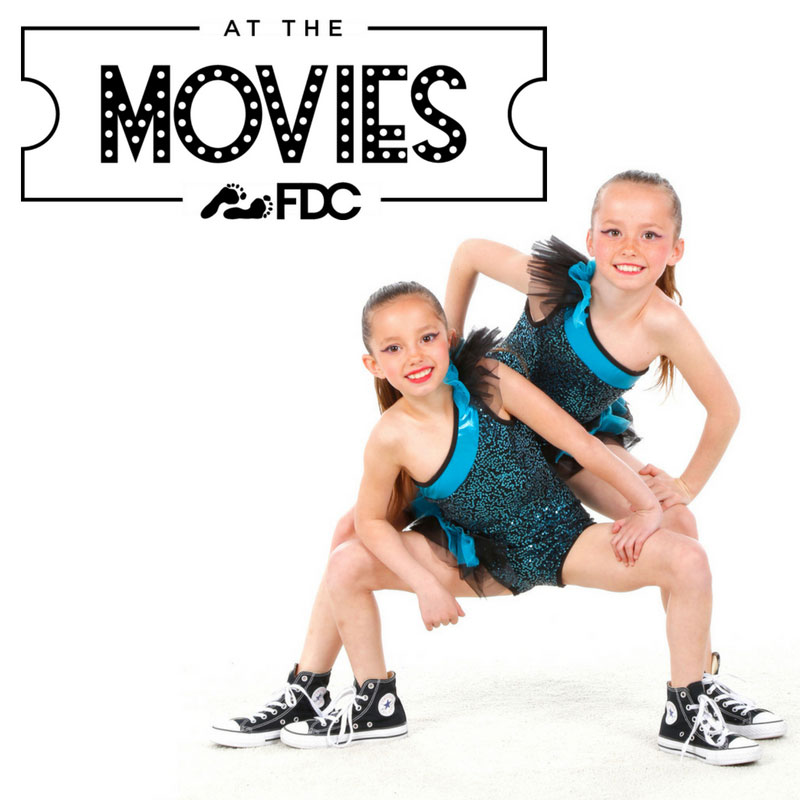 At The Movies Dance Camp Logo