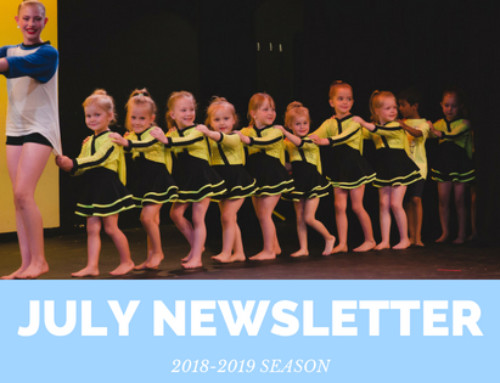 July Newsletter 2018 | Woodstock Dance Studio