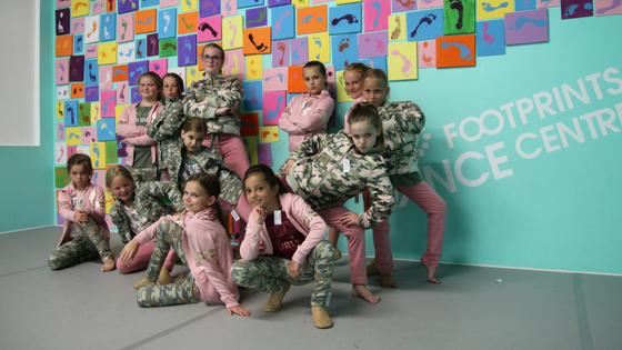 Junior Hip-Hop dancers are looking fierce!