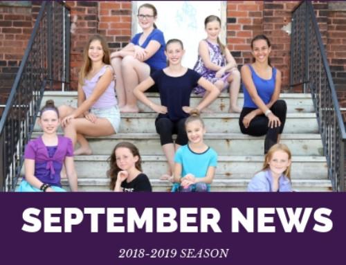 September 2018 Newsletter | Season #7