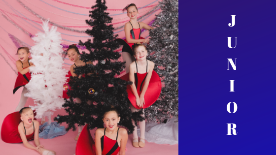 "Our Junior Dancers had a blast during their ""peek a boo"" photo shoot with Rachael Little Photography!"