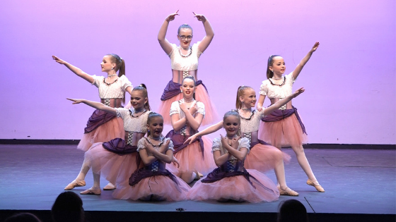Our Competitive Dance Junior Team debuted their Pirates themed ballet routine at our Competitive Showcase!