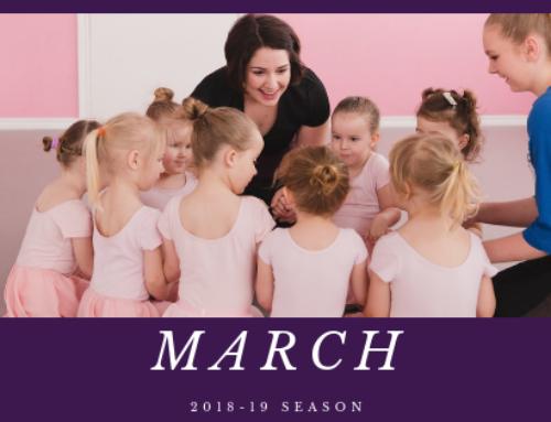 March Newsletter 2019   Woodstock Dance Studio
