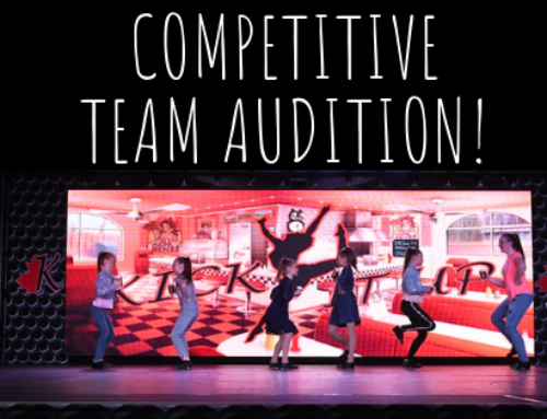 Competitive Team Audition – Sunday May 26