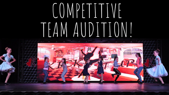 competitive team audition!