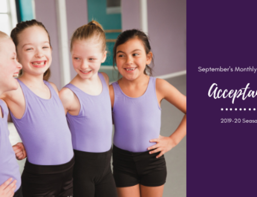 September's Intention: Acceptance | Woodstock Dance Studio
