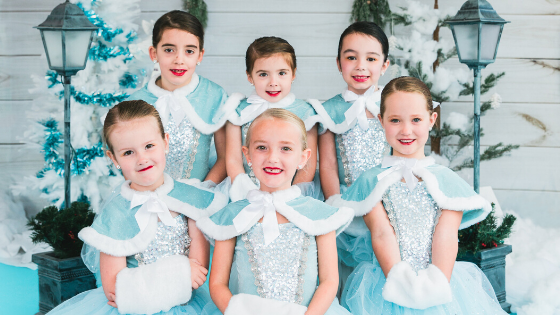 Our Tulip dancers were dressed in their winter finest for their performances!