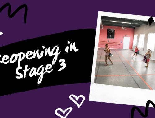 Re-Opening Our Dance Studio in Stage 3